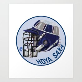Hoyas Bucket Helmet Art Print