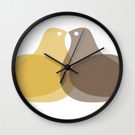 MCM Lovey Dovey Wall Clock