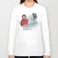 mulder Long Sleeve T-shirts featuring Mulder and the ET files by Magdalena Almero