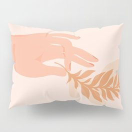 Abstraction_NAMASTE_LOVE_Minimalism_001 Pillow Sham