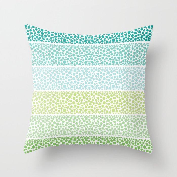 Zen Pebbles Throw Pillow