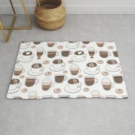 Coffee Cups Rug