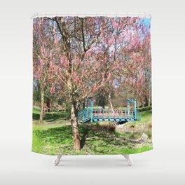 Ashleaf Maple Shower Curtain