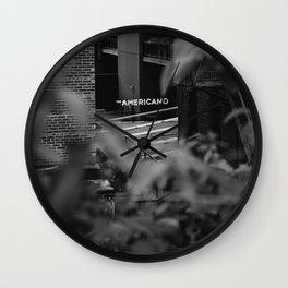 Americano Wall Clock
