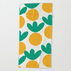 Minimalist Fruit Summer Pattern Beach Towel