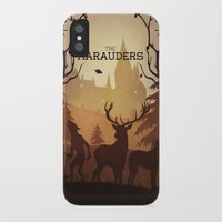 marauders iPhone & iPod Cases featuring The Marauders by sevillaseas