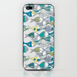 go fishing then! iPhone Skin
