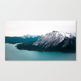 Abraham Lake, Alberta Canvas Print