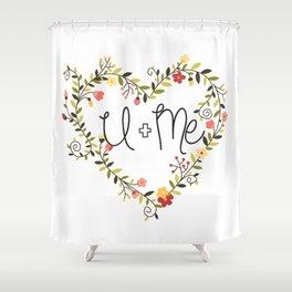 U + Me Shower Curtain