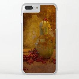 Disassembled pumpkin Clear iPhone Case