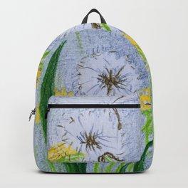 Dandelion flowers Backpack