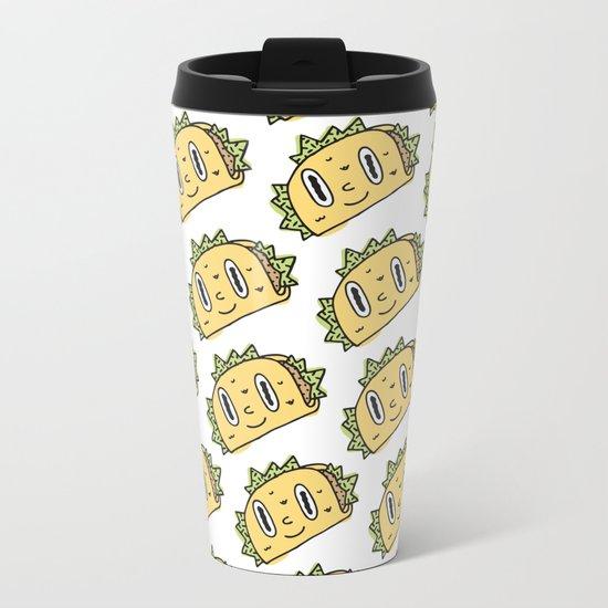 Taco Buddy Metal Travel Mug