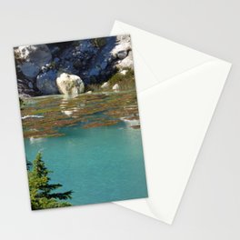 Clear Pond at Lassen Volcanic National Park Stationery Cards