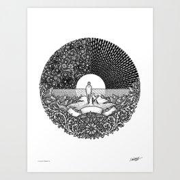 HORIZON - Visothkakvei Art Print