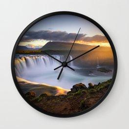 Goðafoss Wall Clock