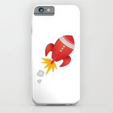 Retro Rocket Blast Off Slim Case iPhone 6s