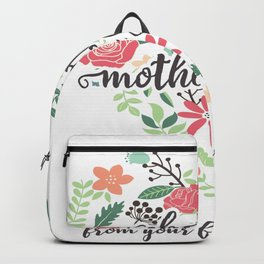 Happy mothers day Backpack