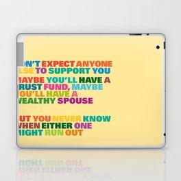 Trust Fund Laptop & iPad Skin