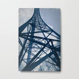 Steel Tower Metal Print
