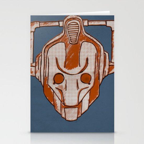 Warholian Cybermen (Doctor Who) Stationery Cards