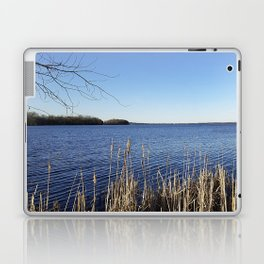 """Incredi-blue"" lake view - Lake Mendota, Madison, WI Laptop & iPad Skin"