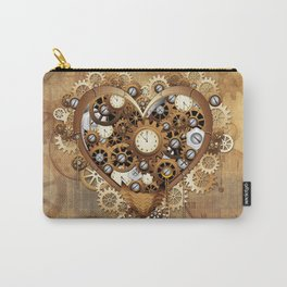 Steampunk Heart Love Carry-All Pouch