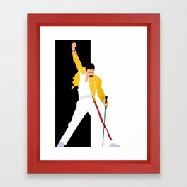 Freddie m Framed Art Print