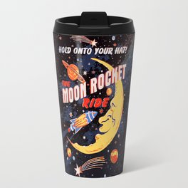 Rocket Moon Ride (vintage) Travel Mug