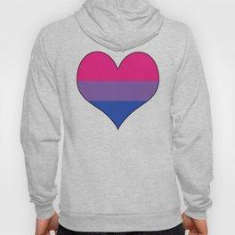 Bisexual Heart Hoody