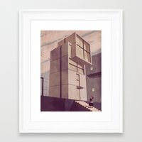 kobe Framed Art Prints featuring House in Kobe by Giordano Poloni