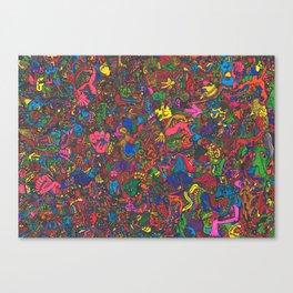 阿鼻叫喚 (Abikyoukan) Canvas Print