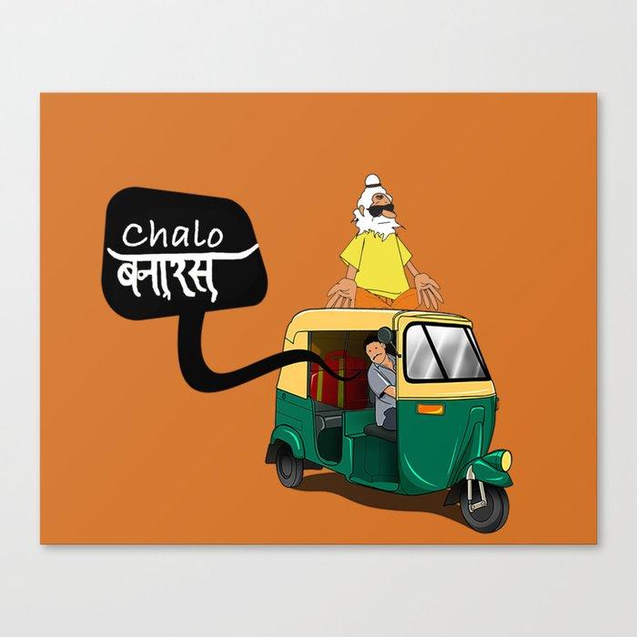 High Baba Canvas Print