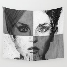 Perrie Edwards Drawing Wall Tapestry
