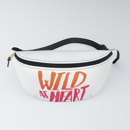 Wild At Heart x Typography Flame Ombre Fanny Pack