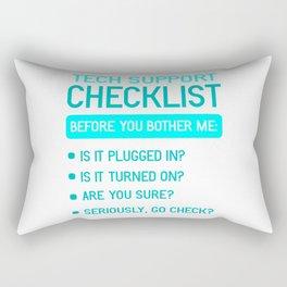 Technical Support IT Technician Technology Gift Rectangular Pillow