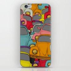 classic beetle iPhone & iPod Skin