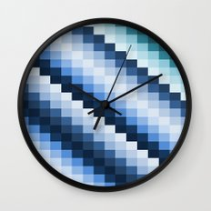 Fuzz Line #2 Wall Clock