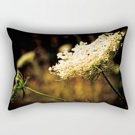 d.a.r.k. Queen Anne's Lace Rectangular Pillow
