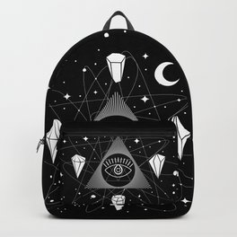 Space Crystals & Secrets of the Universe Backpack
