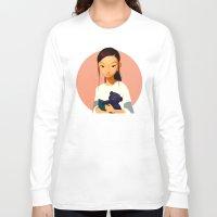 chihiro Long Sleeve T-shirts featuring Chihiro by Samuel Youn