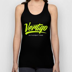 VERTIGO - LIME VERSION Unisex Tank Top
