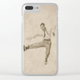Fred Astaire by JS Clear iPhone Case