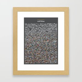 "Stuffit Deluxe ""The 20th century"" Framed Art Print"