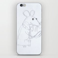 Mouse Scientist  iPhone & iPod Skin