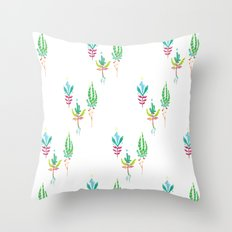 Park Future Flora Throw Pillow