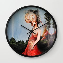 HUMAN FORM DEVINE / no 6 Wall Clock