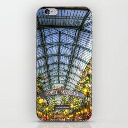 The Apple Market Covent Garden London Art iPhone Skin