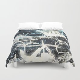 """Washed Ashore"" Duvet Cover"