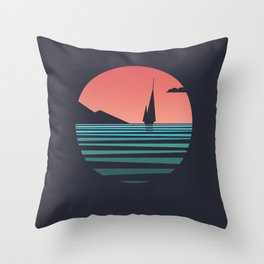 The Ocean /alternate/ Throw Pillow