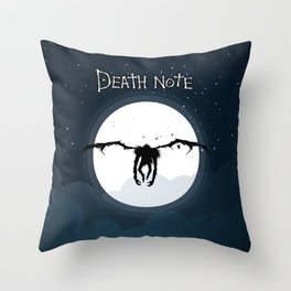 The god of death Throw Pillow